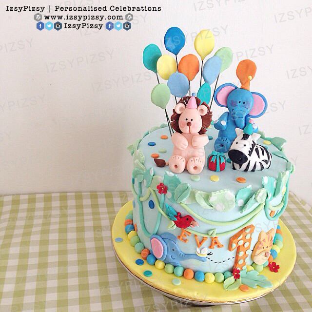 safari birthday cake malaysia