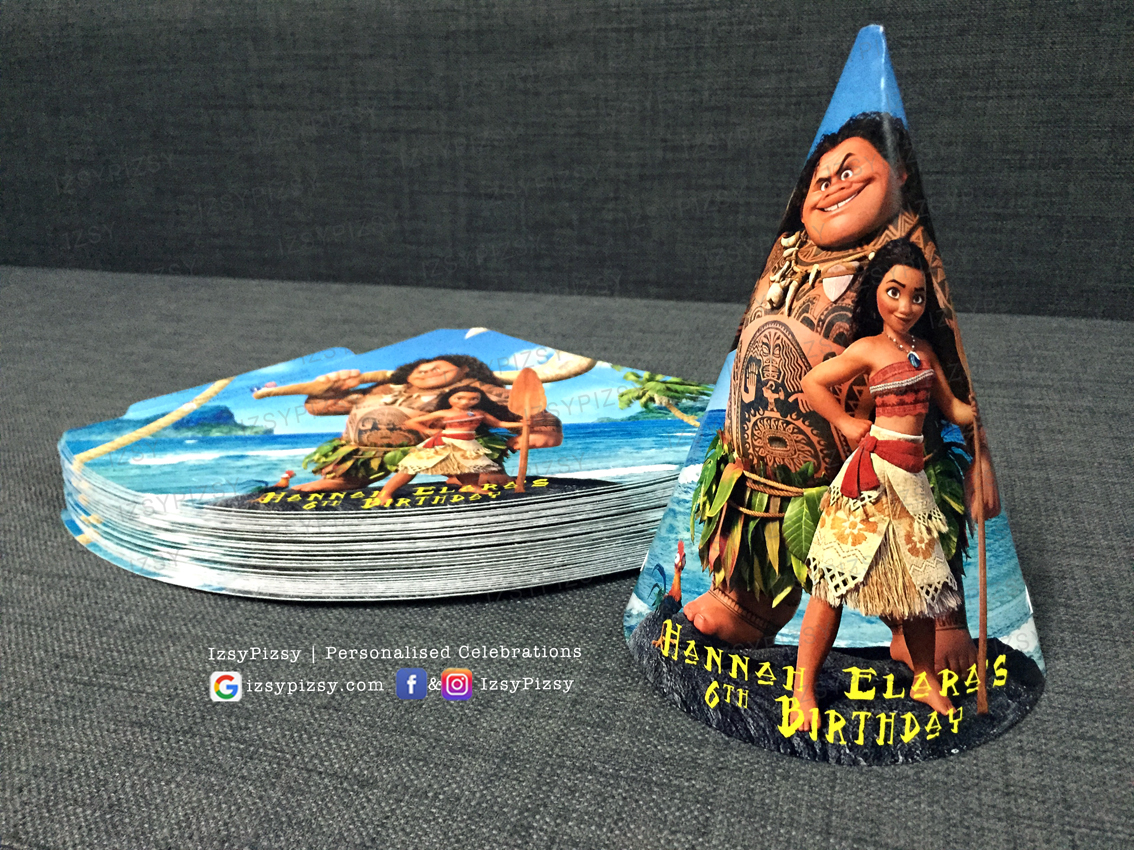 moana party hat birthday theme ideas supplies decorations malaysia printables murah small