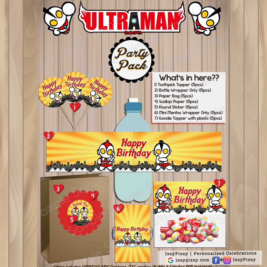 Ultraman Party Pack
