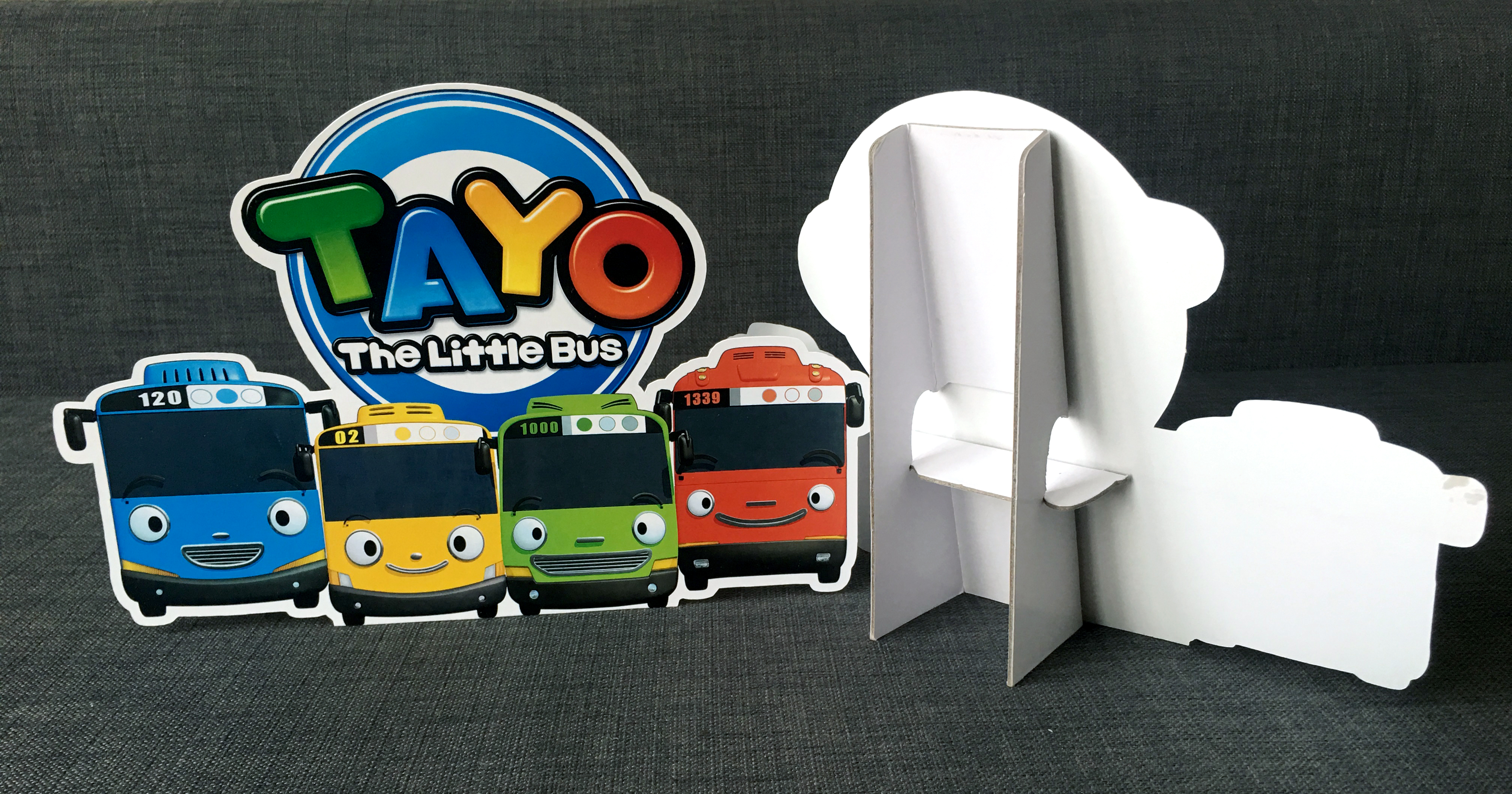 a tayo the little bus personalised customised printed foamboard standee stickers theme kids birthday party supplies decorations ideas bags invitations favors hat balloons toys malaysia