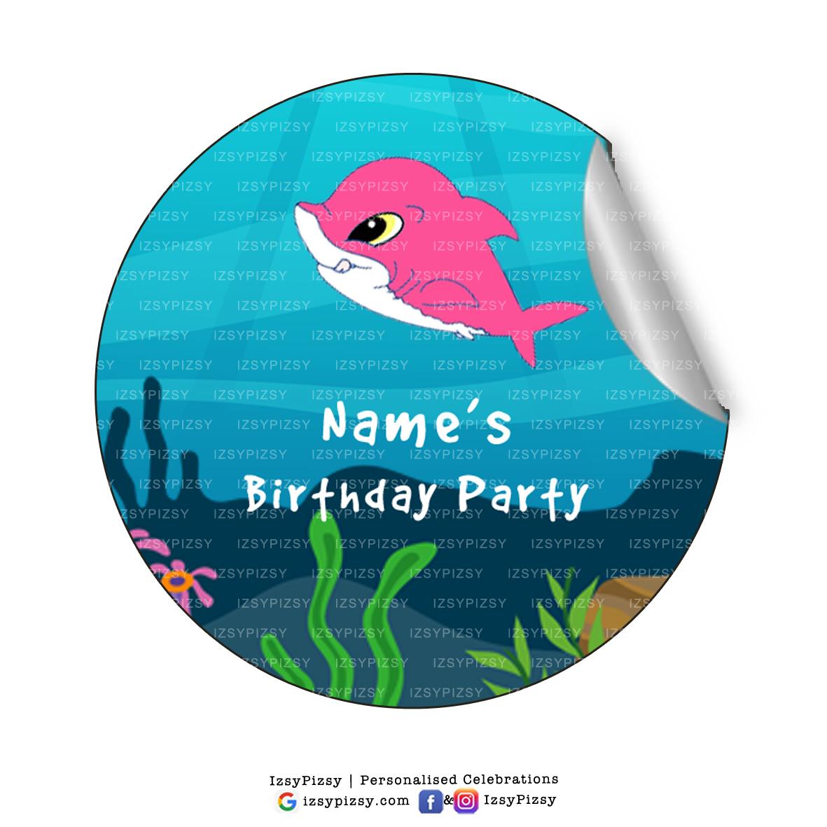 Baby shark doo doo stickers izsypizsy baby shark stopboris Choice Image