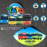 Tayo The Little Bus Birthday Party