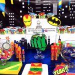 Superheroes Birthday Party