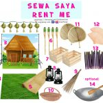 Hari Raya Decoration Props